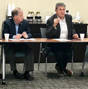 Senator Doug Jones & Joe Manchin speaking